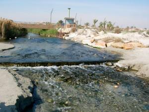 Canal de drenaje de El Mojón