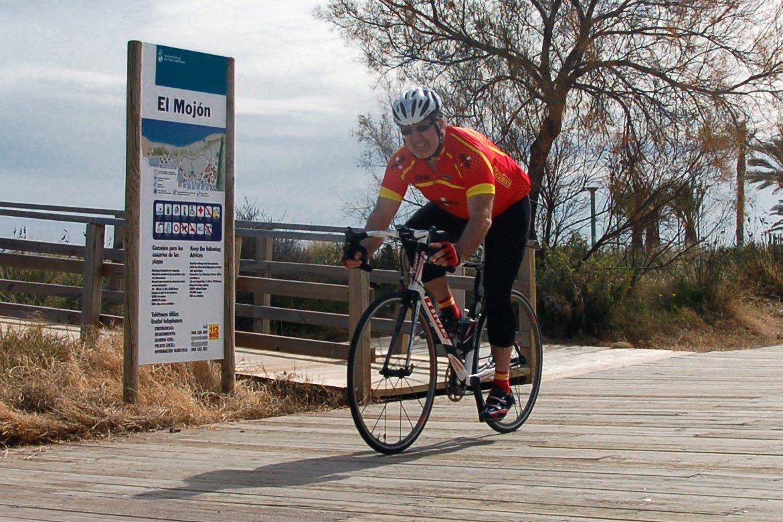 Carta de un ciclista en El Mojón