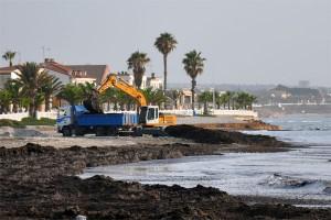 Paciencia, las playas se limpiarán